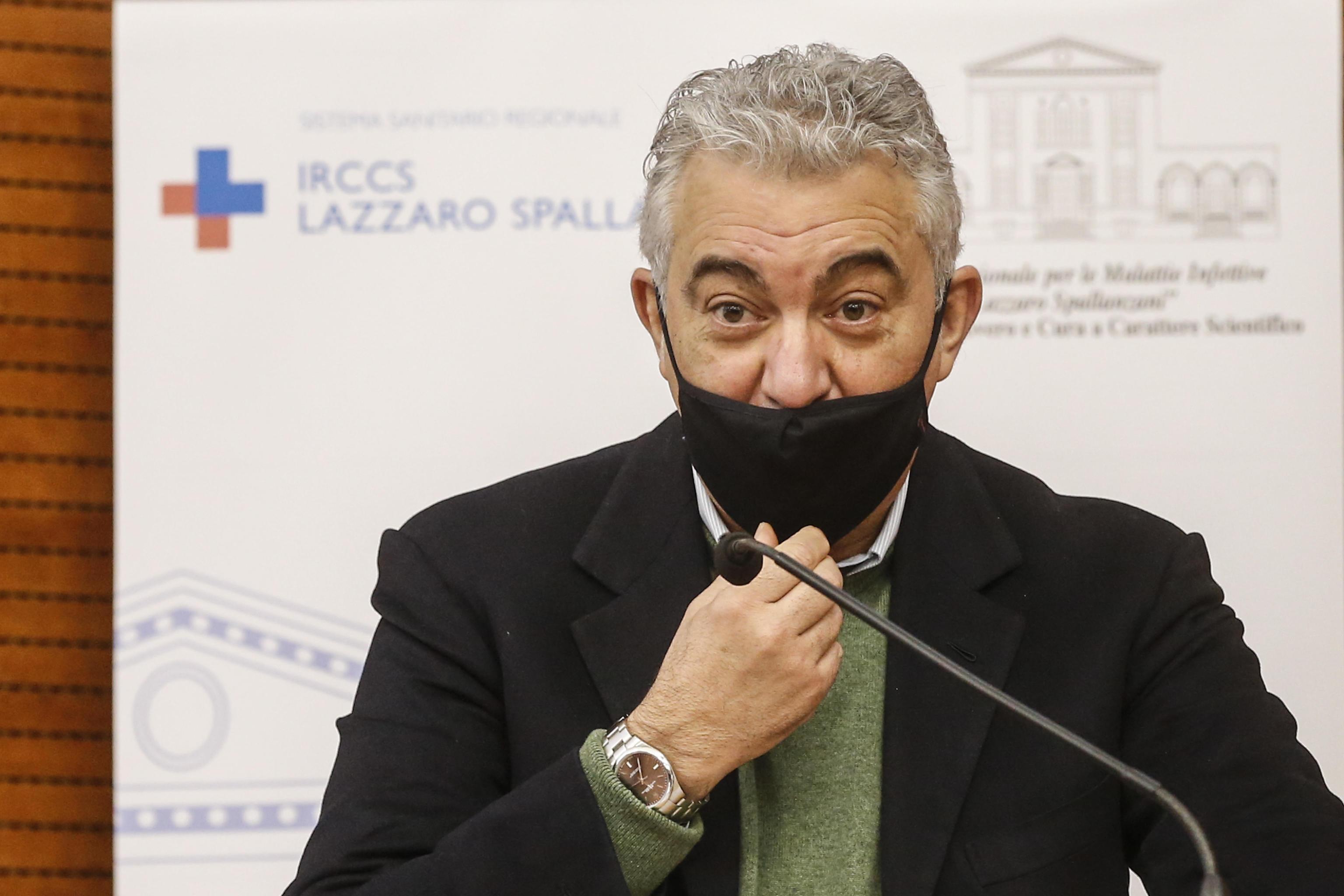 Coronavirus |  Arcuri |  «In Italia vaccinato l'1 | 5% della popolazione  A breve il turno degli over 80»