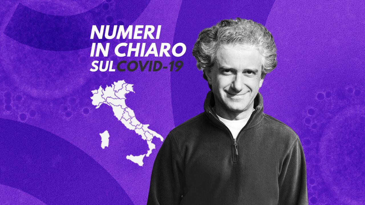 I numeri in chiaro, Sebastiani: «Situazione grave al Nord e in Basilicata. Ma le zone rosse chirurgiche funzionano» – Il video