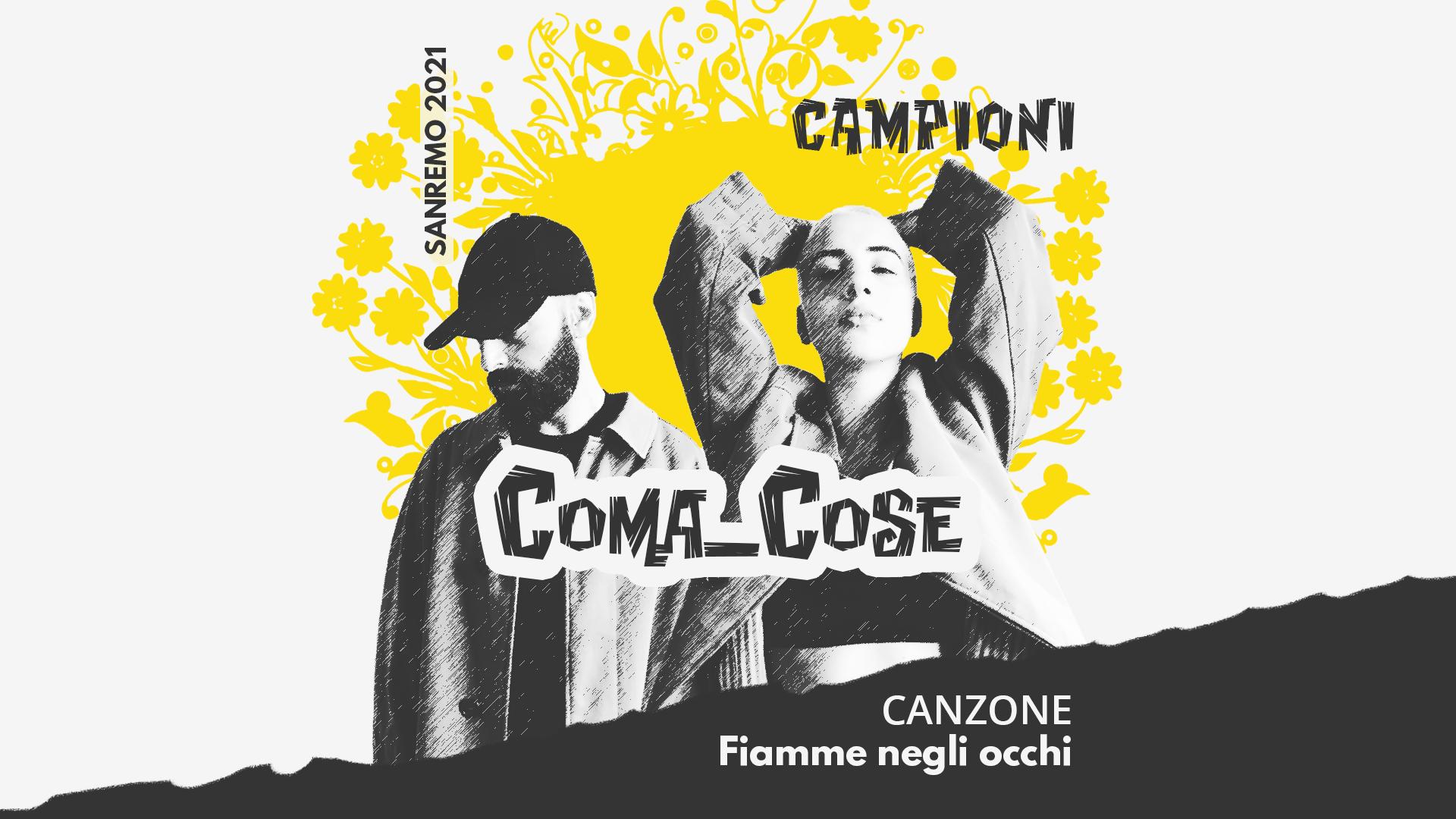 Sanremo 2021, Coma Cose – Fiamme negli occhi
