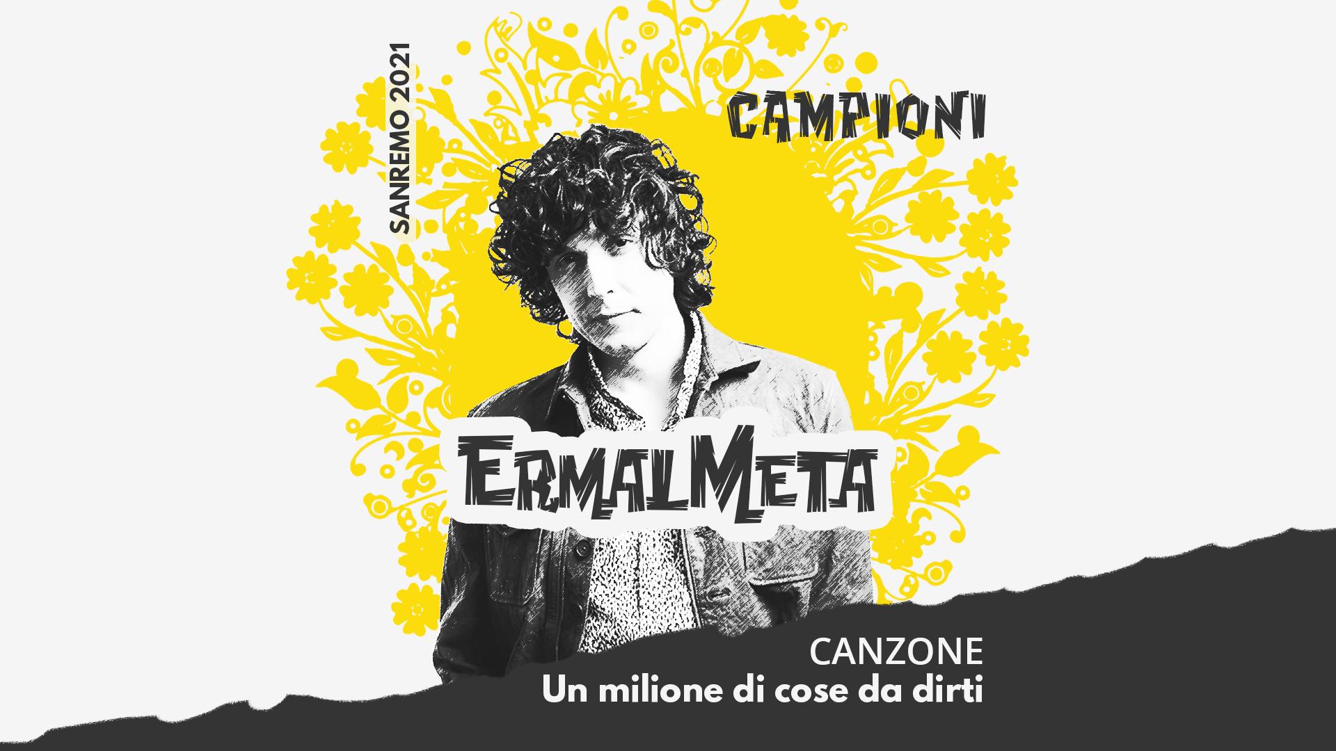 Sanremo 2021, Ermal Meta – Un milione di cose da dirti