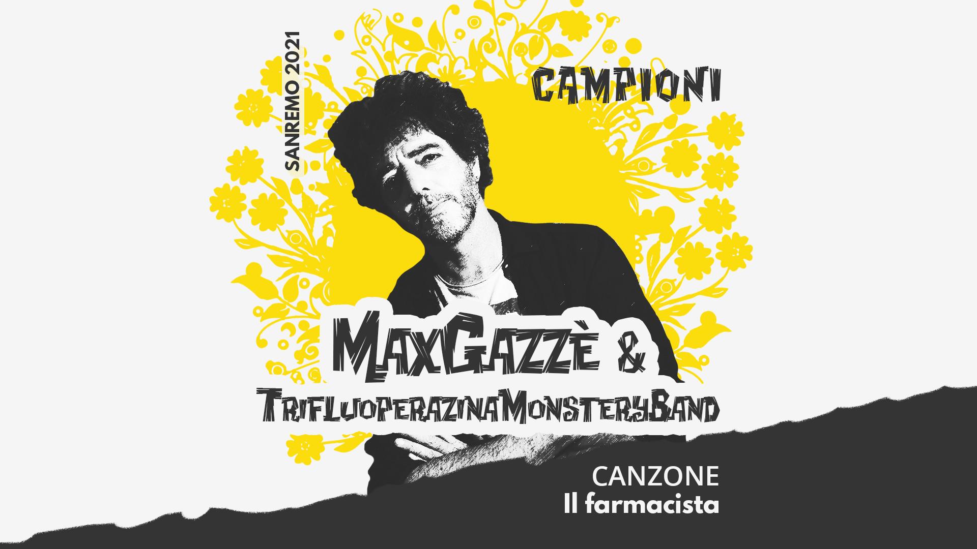 Sanremo 2021, Max Gazzè con la Trifluoperazina Monstery Band – Il farmacista