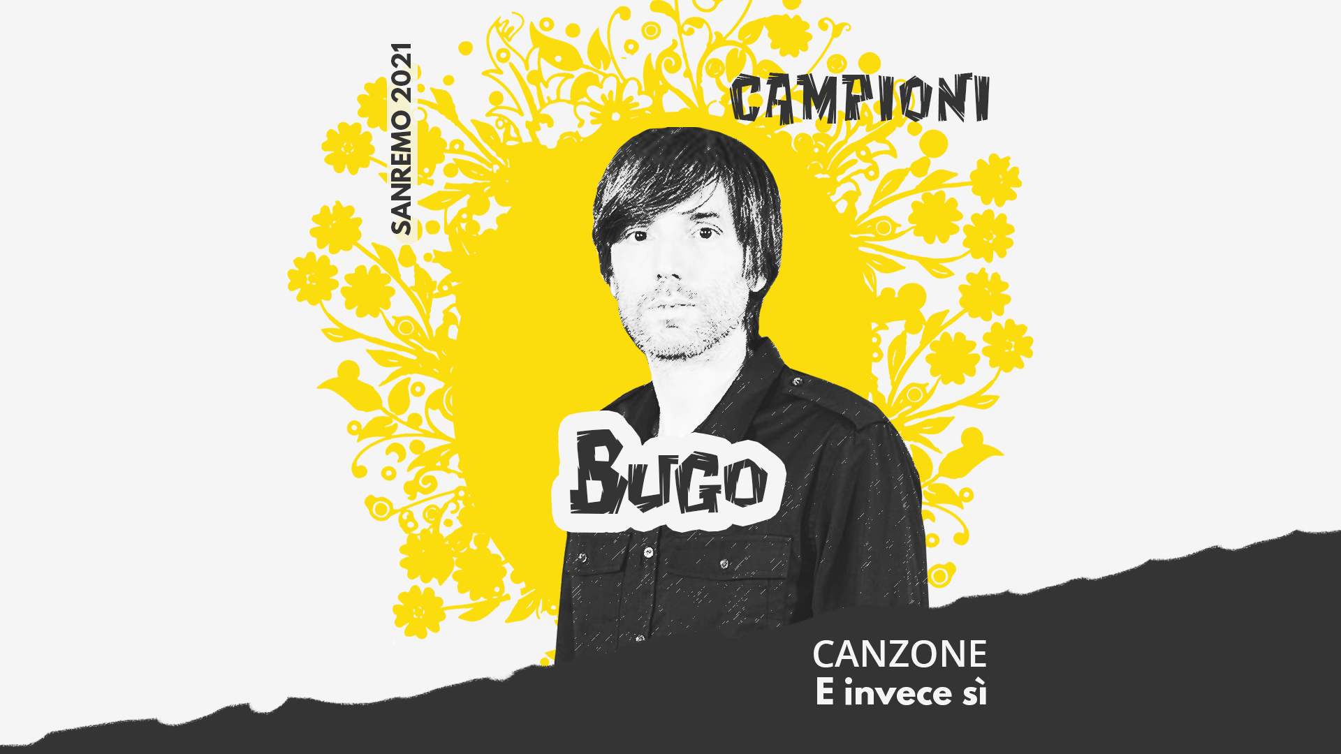 Sanremo 2021, Bugo – E invece sì