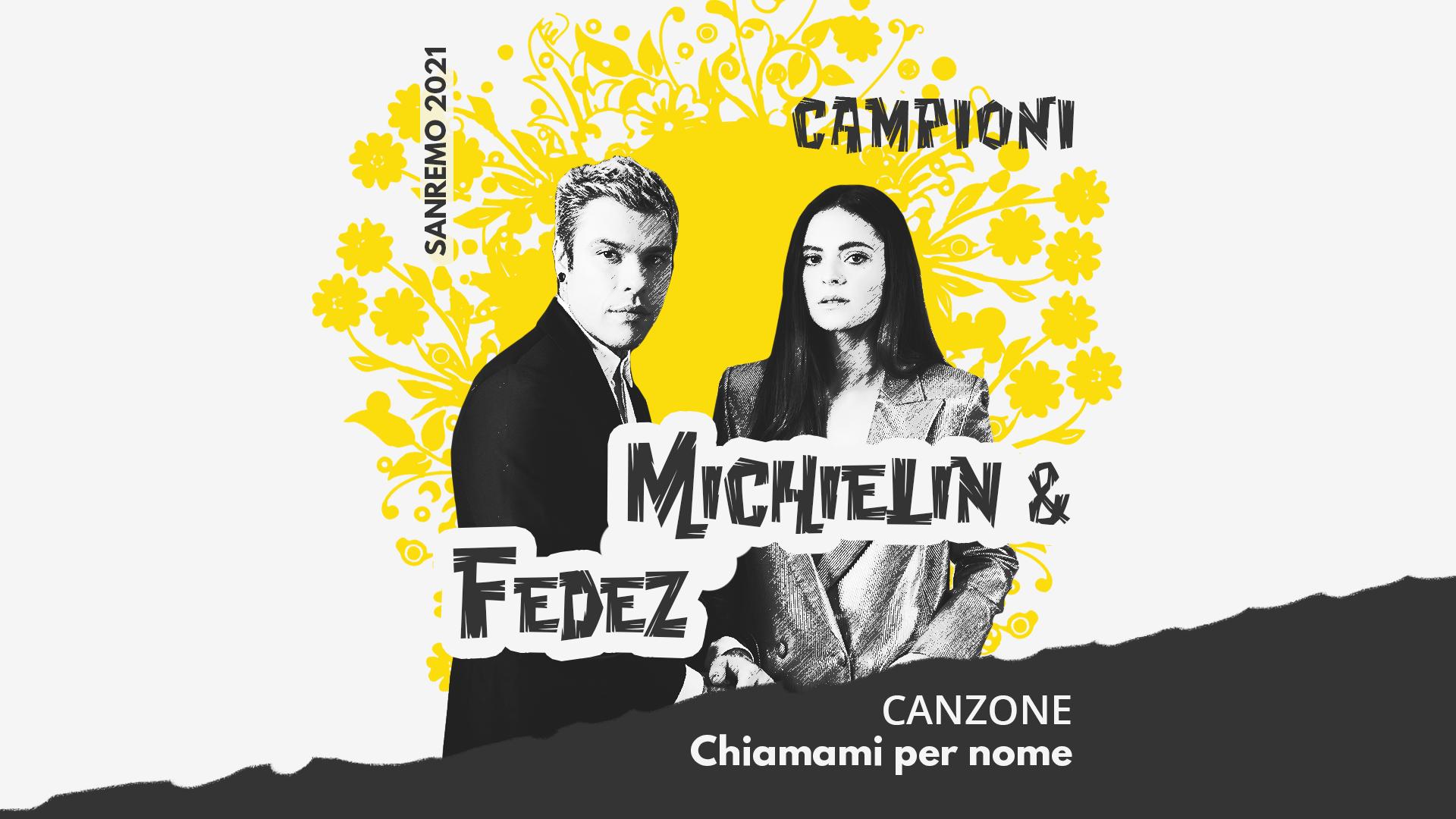 Sanremo 2021, Francesca Michielin e Fedez – Chiamami per nome