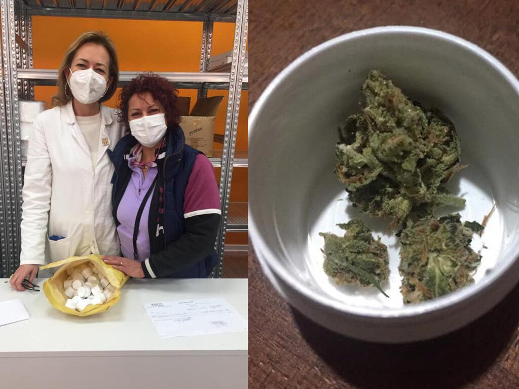Affetta da sclerosi, parla la prima siciliana curata con la cannabis di Stato: «Mai più dallo spacciatore»
