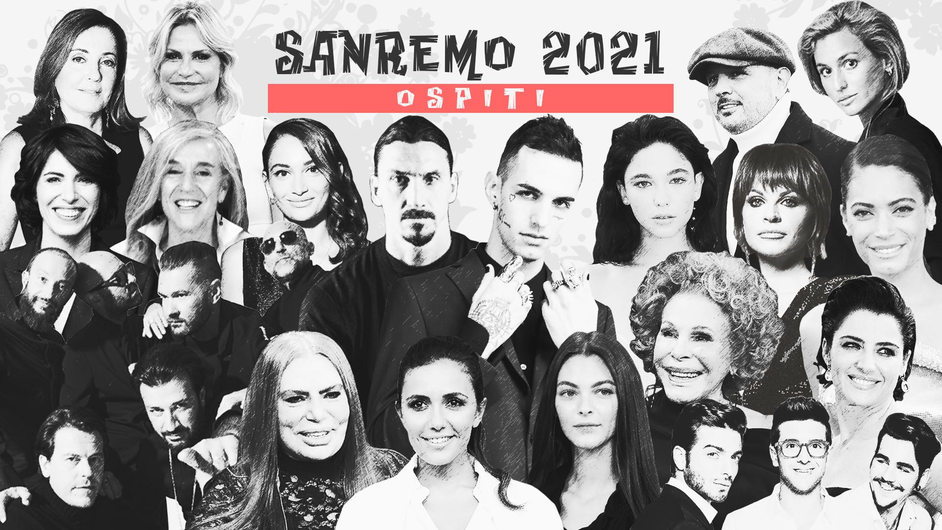 Sanremo 2021, tutti gli ospiti attesi alla 71esima edizione del Festival