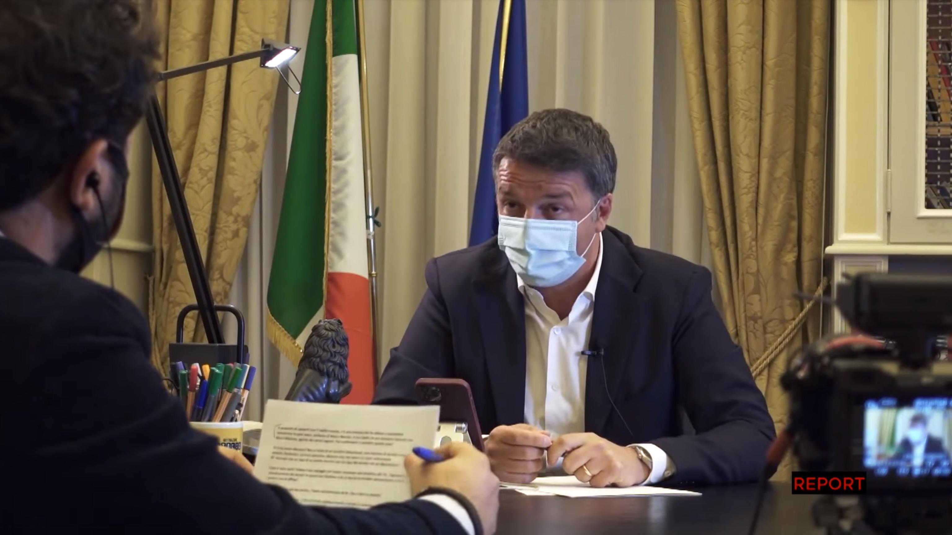 Dopo il servizio sull'incontro con lo 007 Mancini, Renzi denuncia Report: «Intercettato e pedinato illegalmente»
