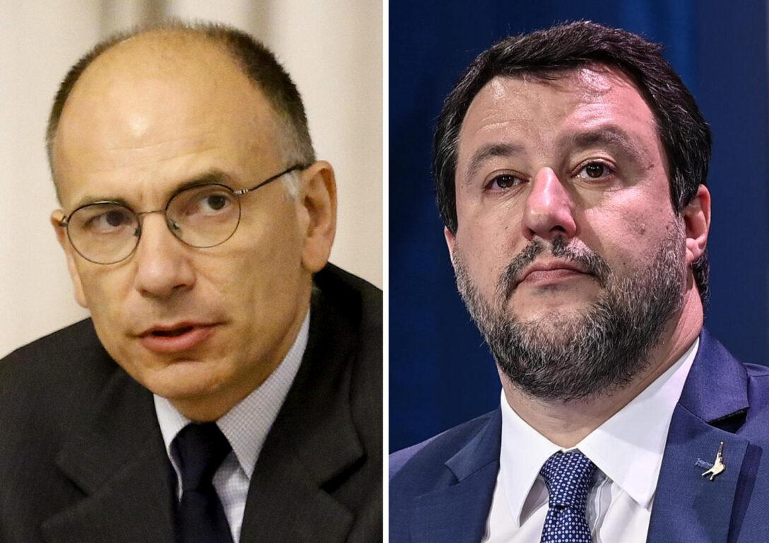 L'attacco a tutto campo di Letta a Salvini | dal ddl Zan ai vaccini| «Omofobo» e «completo irresponsabile»
