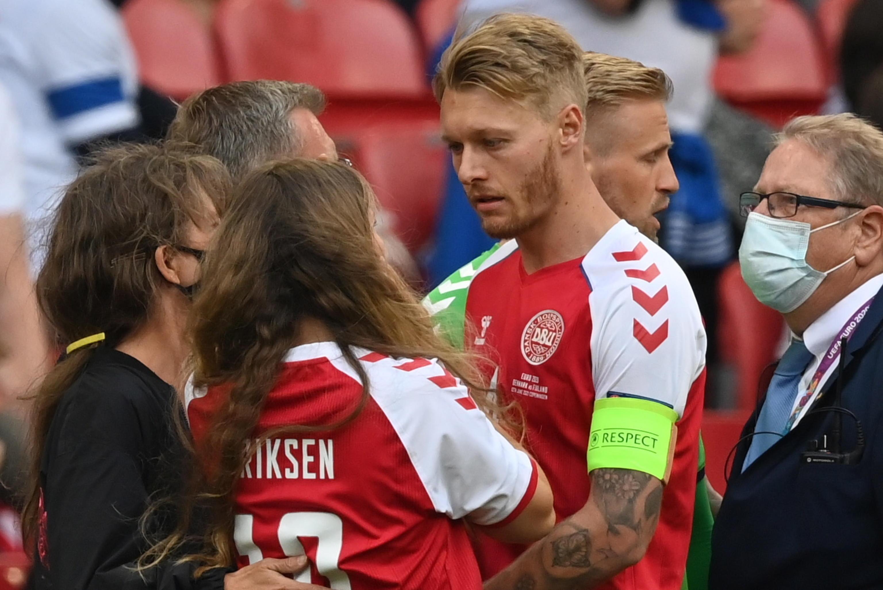 Danimarca, Kjaer ha fatto visita a Eriksen in ospedale | Calcio News