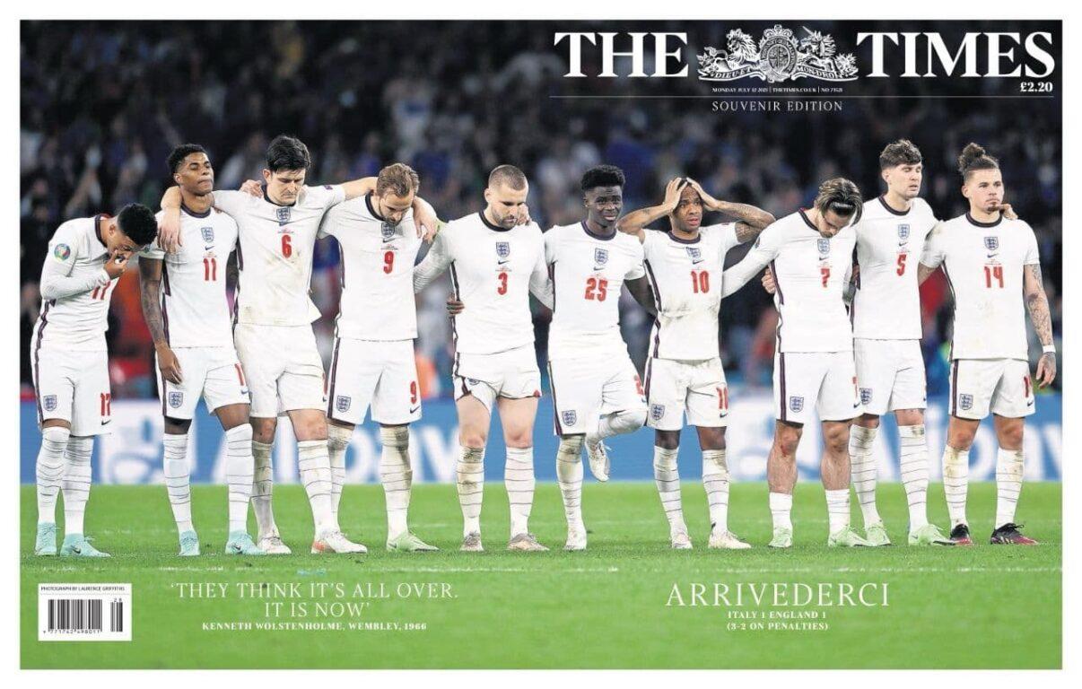 euro 2020 prime pagine quotidiani