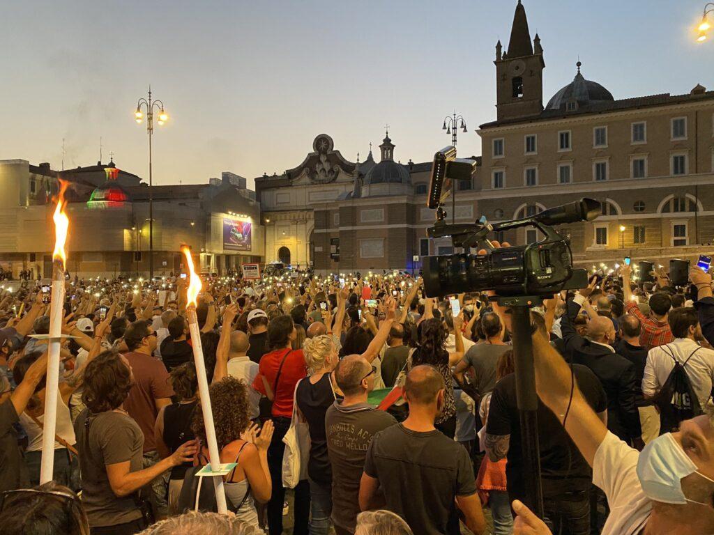 Lega di governo contro Lega di piazza| i malumori nel partito dopo la manifestazione anti Green pass