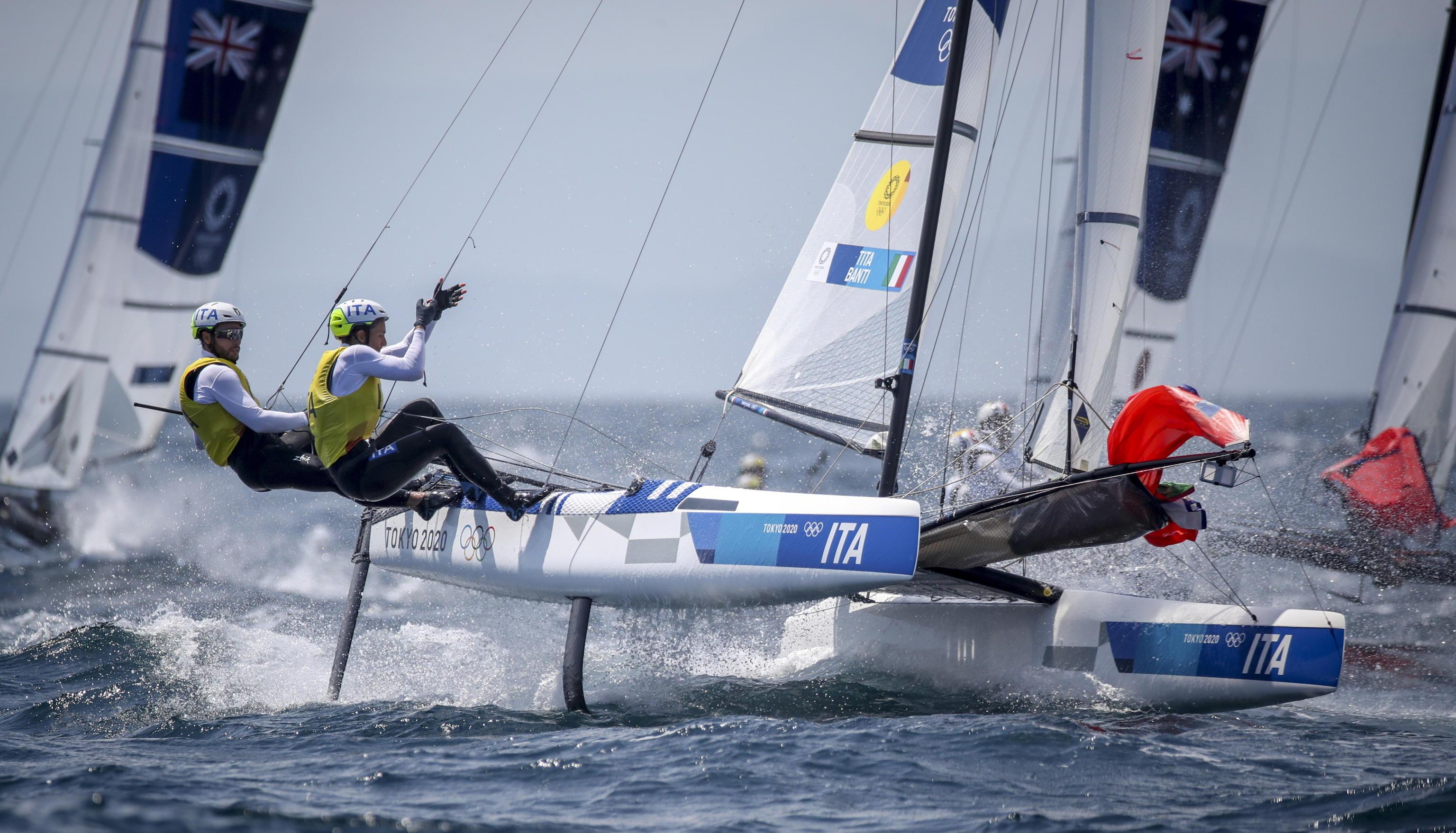 Tokyo 2020, sale l'attesa per la finale di Banti Tita nella vela. Settima Genzo nella canoa K1. Sibilio ottavo nei 400 ostacoli
