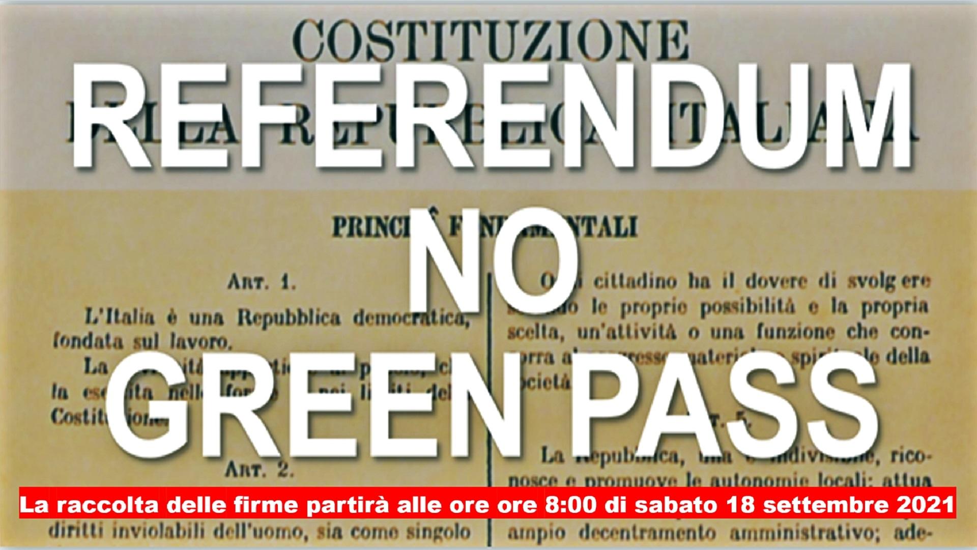 «Non firmate il referendum sul Green pass, è una trappola»: la carica dei complottisti contro la consultazione