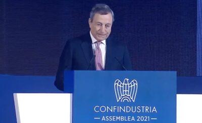 Mario Draghi conferma tagli alle bollette di luce e gas